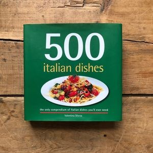Other - Cookbook: 500 Italian Dishes